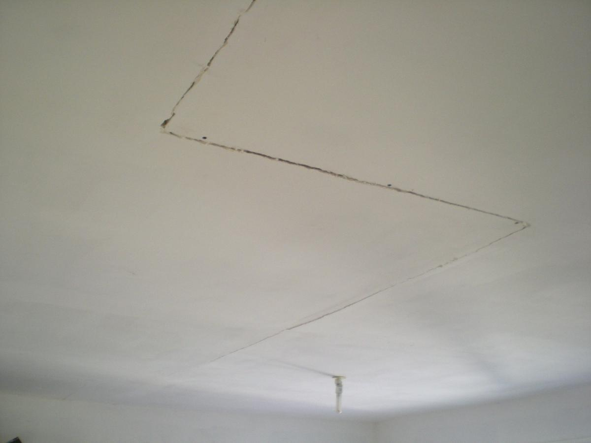 fissure plafond expertise